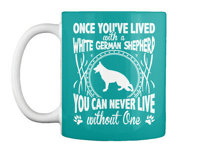 Off-the-rack White German Shepherd - Once You've Lived With A Gift Coffee Mug