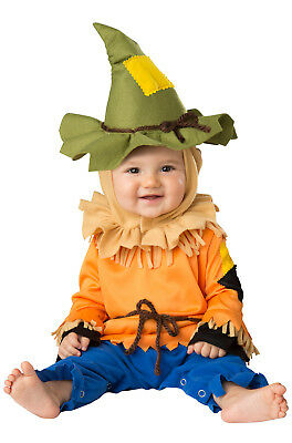 Brand New Silly Scarecrow Wizard Of Oz Baby Infant Costume
