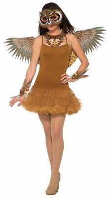 Owl Wings Adult Costume Accessory, Brown