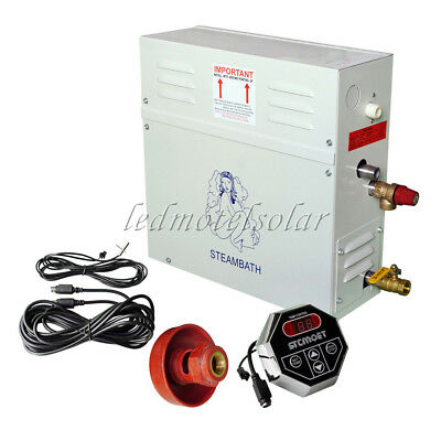 Automatic Steam Generator 9KW 220V Shower Bath Home Spa & St-135 Controller
