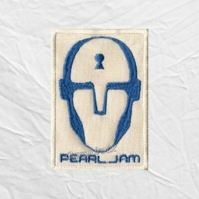 Pearl Jam Binaural Head Embroidered Patch Rock Band Eddie Vedder McCready