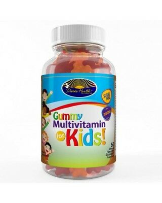 Sugar Free Multivitamin For Kids Gummy (Delicious Tropical Fruit Flavor)