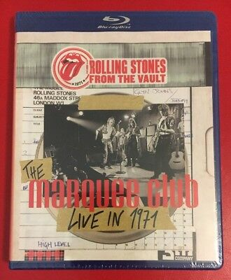 Rolling Stones The Marquee Club Live In 1971 Blu-ray. Brand New & Sealed