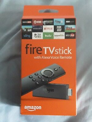 NEW Amazon Fire TV Stick (2nd Generation) with Alexa Voice Remote Media Streamer