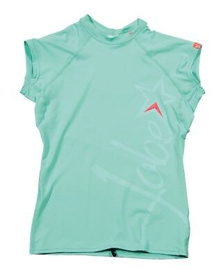 Jobe Rash Guard V Neck Chrome Ladies Jetski Wakeboard Waterski Surf Kite Sup