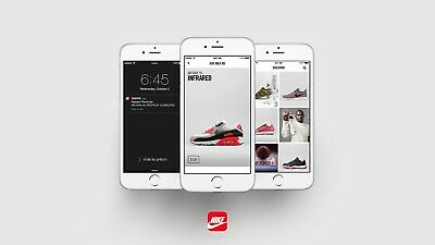 20 Nike+ SNKRS Accounts SMS Verficated