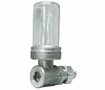 """New Trico Watchdog Closed System Oiler 1/2"""" NPT Glass 31818"""