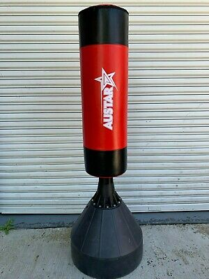 one NEW 160/170/180CM HOME GYM BOXING BAG FREE STANDING PUNCHING KICK MMA 5%OFF