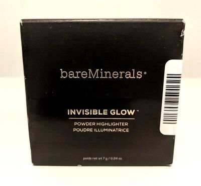 bareMinerals Invisible Glow Powder Highlighter TAN .24 oz 5413 TRA