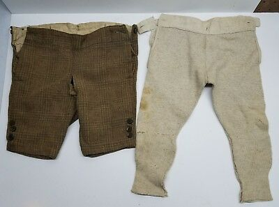 Vintage Antique boys Shorts Knickers Pants Long johns child's outfit very old