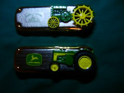 Franklin Mint John Deere Tractor Folding Knives