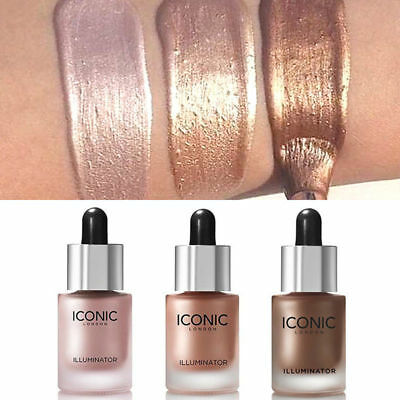 Unicorn Liquid Concealer Highlighter Makeup Shimmer Face Illuminator Oil Glow