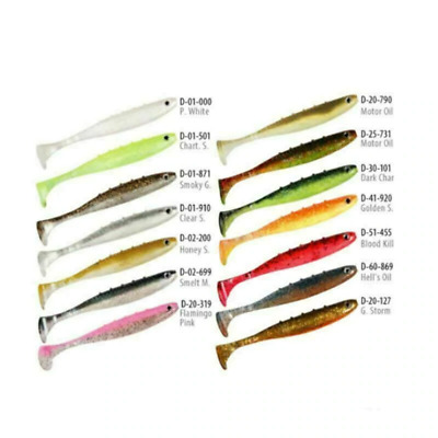 Dragon Aggressor Pro Soft Plastic Fishing Lures - choose size