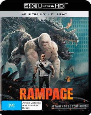 Rampage (4K Ultra HD/ Blu-Ray) (Region B) New Release