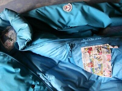 JACKET duvet 80's MONCLER grenoble mod lungo tg.2- L made in France RARE NEW!
