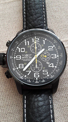 Invicta - Force -  Piloten -  Chronograph - Topzustand - Neuwertig - Look