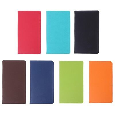 PU Leather Long Passport Covers Travel Ticket Holder ID Card Passport Bags