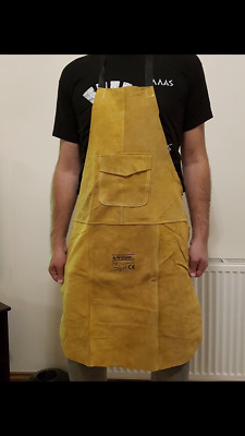 Premium Gold Leather Welders / Welding / Blacksmith / Carpenters Apron 60x90cm