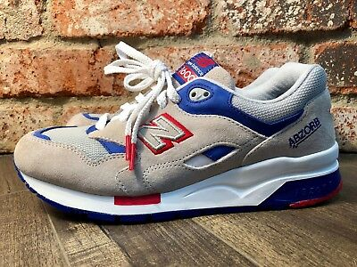 timeless design d26d4 16814 NEW BALANCE 1600 Abzorb Red/White/Blue/Beige Running Shoes CM1600LC Men's  Size 8