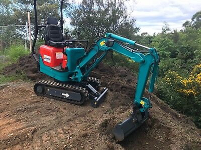 Sunward SWE08 Mini Excavator,AS NEW ONLY HAS 50 HOURS