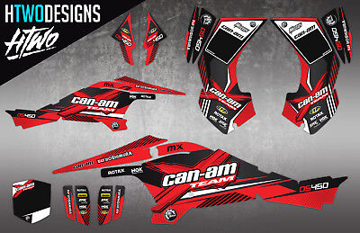 Can-Am Ds450 Graphics Ds 450 Stickers Decals Sticker Graphic Kit Canam Decal New