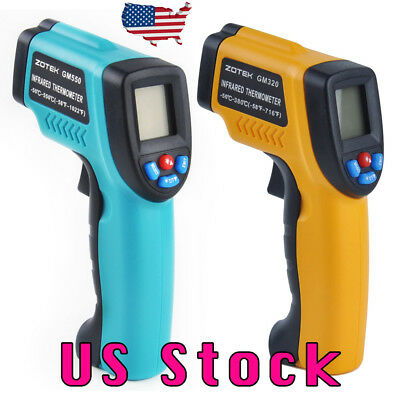 USA Digital Infrared Temperature Temp Gun Thermometer Non-Contact IR Laser Point