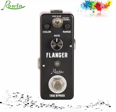 Rowin LEF-312 Guitar Use Flanger Effect Type mini Pedal