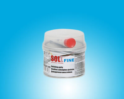 SOLL FINE finishing putty for small areas easy to grind 0.25kg/8.82oz