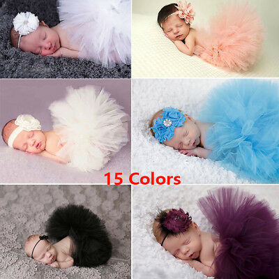 Flower Girl Princess Dress Kid Baby Party Wedding 0-3 Month Tulle Tutu Dresses