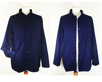 Grade B CHORE French Worker Jackets - Navy Blue - Various Sizes XS S M L XL