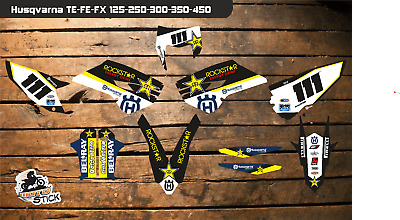 Husqvarna TE250 2014-2016 Rockstar Graphic Kit