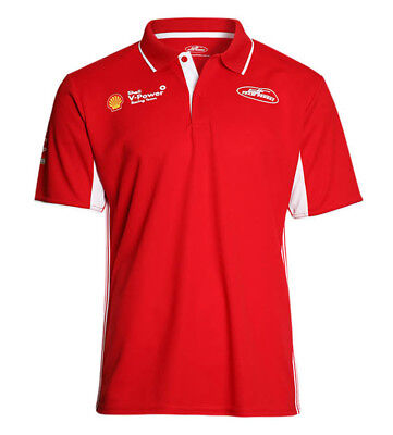 2018 Shell V Power Racing Team Mens Polo Shirt