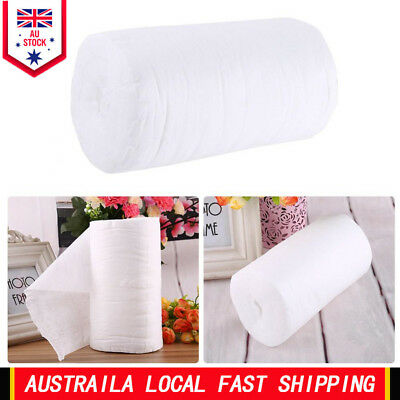 100pcs/Roll Disposable Cloth Baby Nappy Liner Covers Soft Fabric Diaper Pad AU