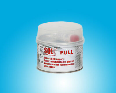 SOLL FULL universal putty for large and small surfaces easy to use 0.5kg/17.64oz