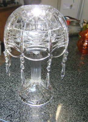 Lovely Crystal Lamp Candle Holder