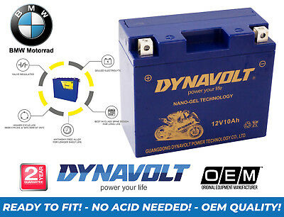 New Bmw F 700 Gs 2015 Dynavolt Motorcycle (Ytx14Bs Upgrade) Gel Nano Battery