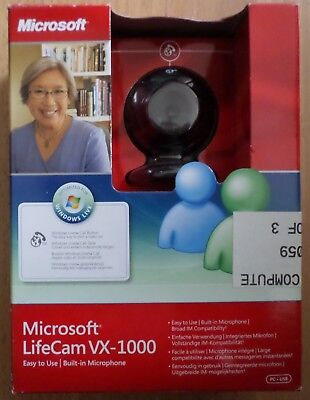 Microsoft Lifecam VX-1000 New in Box