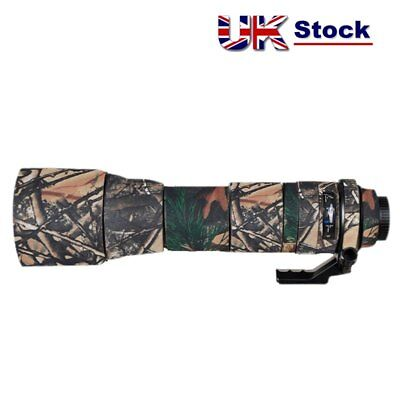 Tamron 150 600mm f5-6.3 A011 G1 Neoprene Lens Coat Protection Cover Camouflage