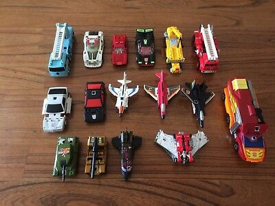 Transformers G1 G2 Collection 1980's Mixed Lot