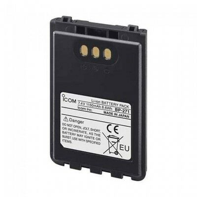 Icom Bp271 1150Mh Li-Ion Battery Pack For Id31/Ip100H X 1