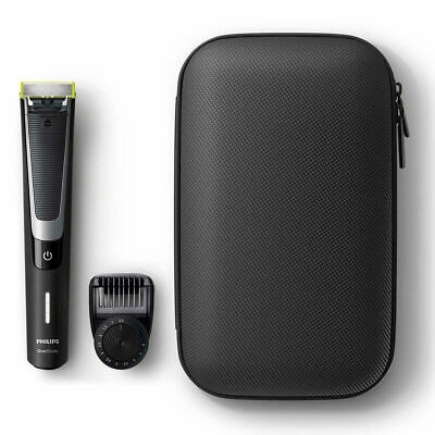 Philips OneBlade Pro Face Hybrid Trimmer With Travel Pouch QP6510/64