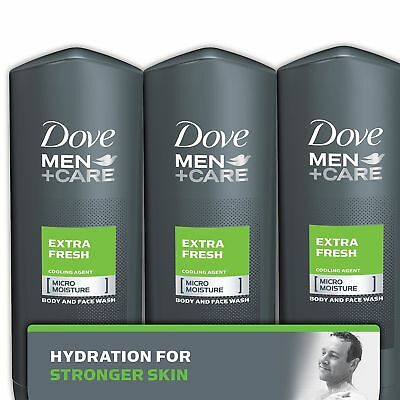 Dove Men+Care Body and Face Wash, Extra Fresh (18 oz., 3 pk.)  Free Shipping!!!