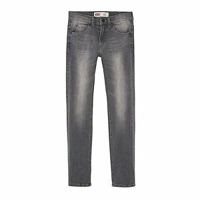 Levis Kids Pant 511, Jeans Bambino, Grigio, 16 anni (r7s)