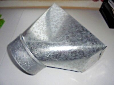 Galvanized Metal Straight Register Boot Duct HVAC 6 x 4 x 12 Heating & Cooling