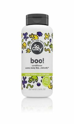Lot of 5 Boo - So Cozy Medicated Hair Conditioner 8 fl. oz each Free Shipping