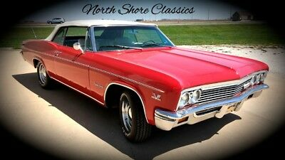 Impala -SUPERSPORT- CONVERTIBLE - BIG BLOCK 454 - SEE VID 1966 Chevrolet Impala for sale!