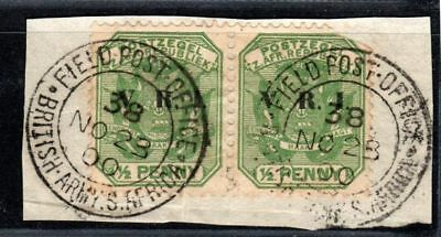 Transvaal V.R.I. Postmark British Army South Africa Field Post Office 23.11.1900