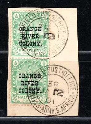Orange Free State stamps 01.12.1901 Postmark British Army Field Post Office