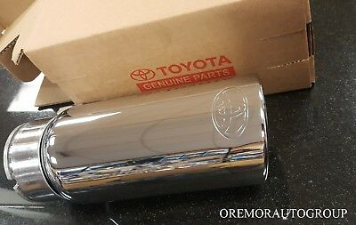 2012-2018 Tundra Chrome Exhaust Tip PT932-34160 Genuine OEM