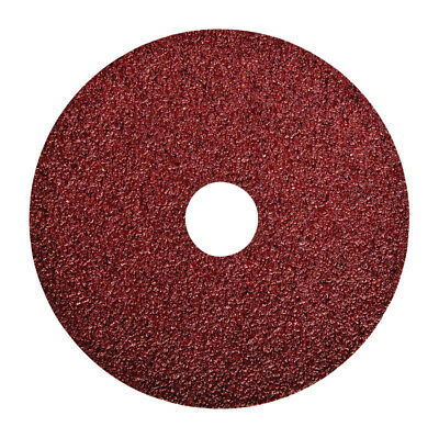 "Norton 01911/04706 5"" 24 Grit Fiber Backed All Purpose Grinding & Sanding Disc -"